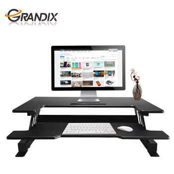 adjustable plus varidesk black com height dp standing desk blinds pro amazon