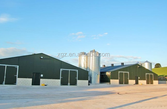 low price advanced automatic broiler poultry farm house design