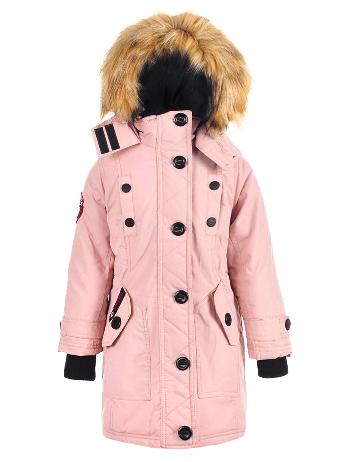 Canada Weather Gear Girls' Insulated Parka