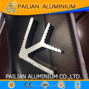 Aliminium extrusion profiles for aluminium profile corner joint,aluminium angle cheap aluminum profile corner joint supplier