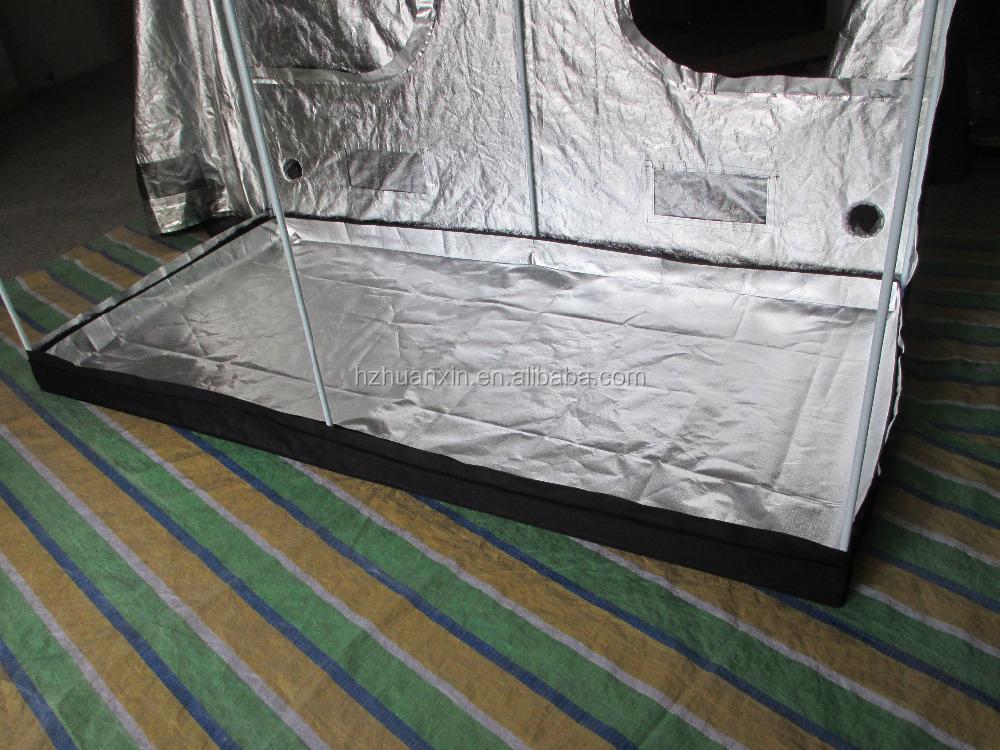 High quality eco-friendly Mylar 600D fabric light-proof grow tent materials mushroom grow & High Quality Eco-friendly Mylar 600d Fabric Light-proof Grow Tent ...