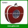 YGH351 Leather Apple Shaped LED Talking Clock Arabic