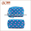 Promotion cosmetic bag,make up bag,beauty bag canvas tote bag with pockets and zipper