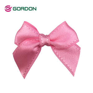 self adhesive ribbon bow,self adhesive satin bow