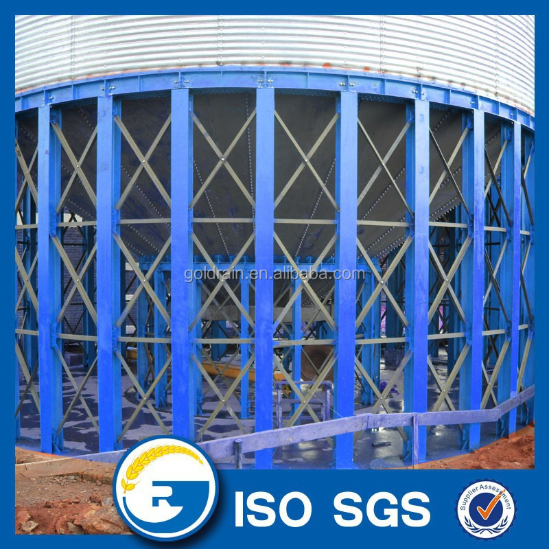 Hopper Bottom Grain Storage Steel Silo