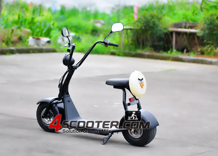 60v 800w1000w Lithium Battery City Coco Fat Tire Electric Scooter ...