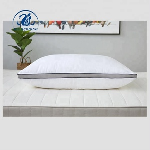Breathable 3D Mesh Pillow Cotton Fabric Polyester Filling Bed Pillow