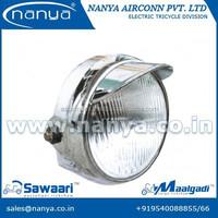 3 bulb LED headlight for rickshaw