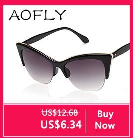 6160c6bf5ed5d AOFLY Fashion Metal Frame Steampunk Sunglasses Women Brand Designer Unique  Men Gothic Sun glasses Vintage Oculos De Sol Feminino