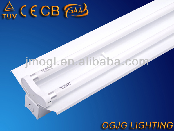 T5 2x28w fluorescent lamp fitting