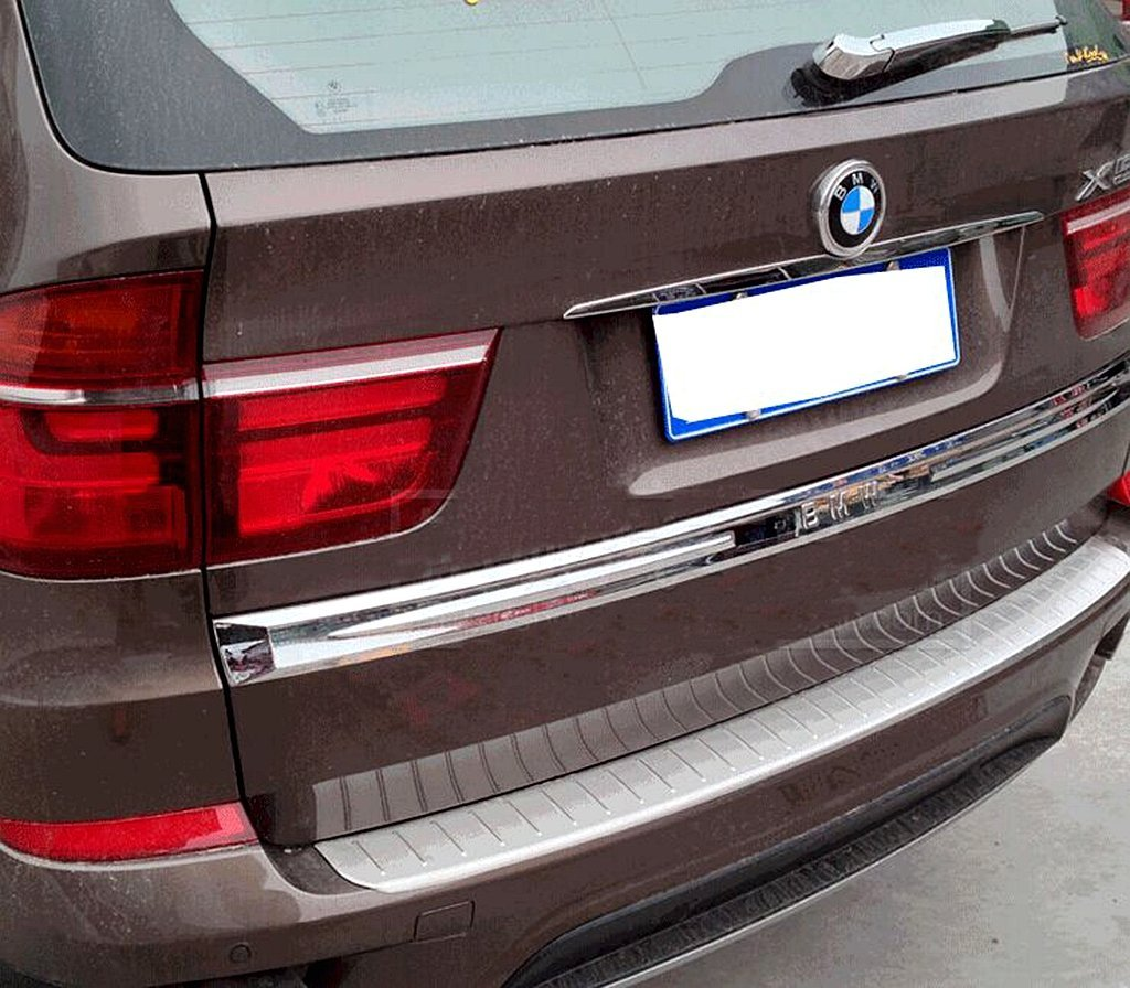 Matte Interior 4 Door Lock Pins Decorative Cover Trim For BMW X5 E70 2008-2013