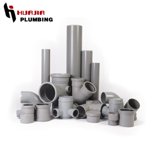 JH0298 underground pipe fittings pvc pipe extension fitting pvc sanitary fitting