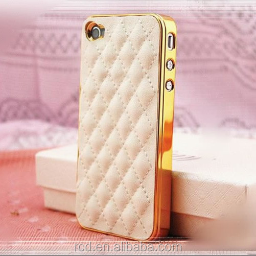 Lattice Back Covers For <strong>iPhone</strong> 4S 4 <strong>4G</strong> Grid Soft Case For <strong>iPhone</strong> 4S 4 <strong>4G</strong> Leather Covers For <strong>iPhone</strong> 4S 4 <strong>4G</strong> ac259