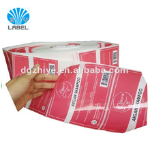Printing roll bottle seal stickers adhesive vinyl label sticker