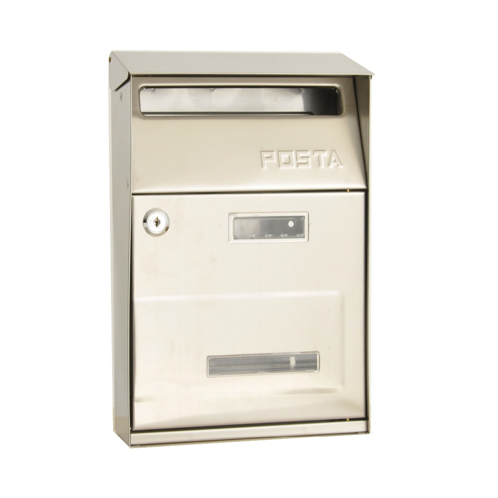 modern stainless steel mailbox factory direct mailbox with number lock