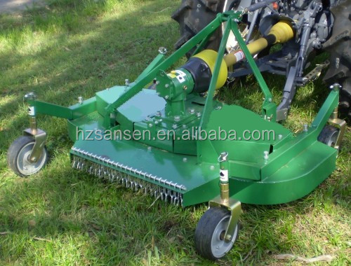 Finish Mower With Pto Shaft Grass Cutter For Compact Lawn