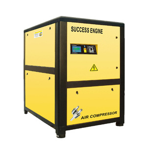 Success Engine belt drive 55kw 300 cfm industrial rotary screw air compressor