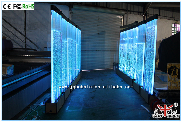 hotel lobby wall decoration led dancing fairy water fountains