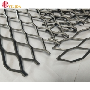 heavy Diamond Mesh Steel expanded metal plank grating for trailer flooring