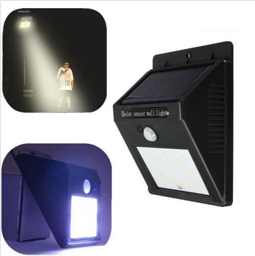 Super Bright 4 Smd Led Wireless Solar Powered Motion Sensor Light ...