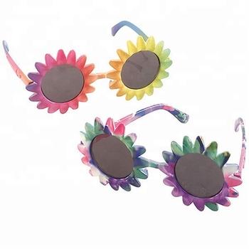21867deb5f Hippie 60s 70s Flower Power Party Sunglasses Glasses Specs Fancy Dress  Accessory New SA2025