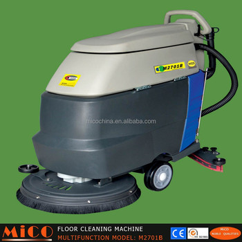 Tile Floor Washing Cleaning Machine Cart Electric Powered Mb - Machine to wash tile floors