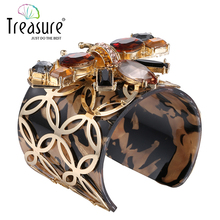 Fashion Women Sexy Plastic Wide Cuff Bangle