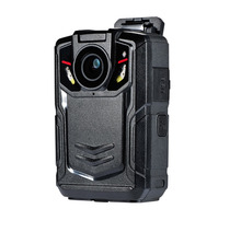 1080P Body camera for Public security support 256GB Storage 3G LTE/4G GPS WIFI Onvif