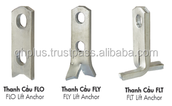 Flat Precast Concrete Panel Lifting Anchor - Buy Lifting Anchors For  Precast Concrete,Concrete Lifting Eye Anchor,Concrete Lifting Anchor System