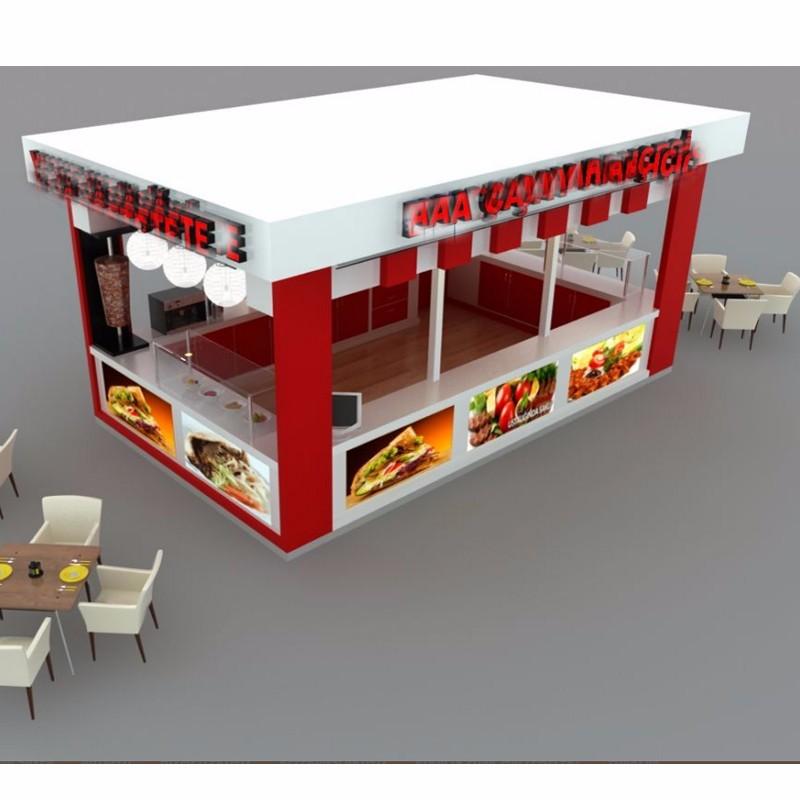Wooden Custom Food Kiosk Vending Kiosk Mall Kiosk Buy