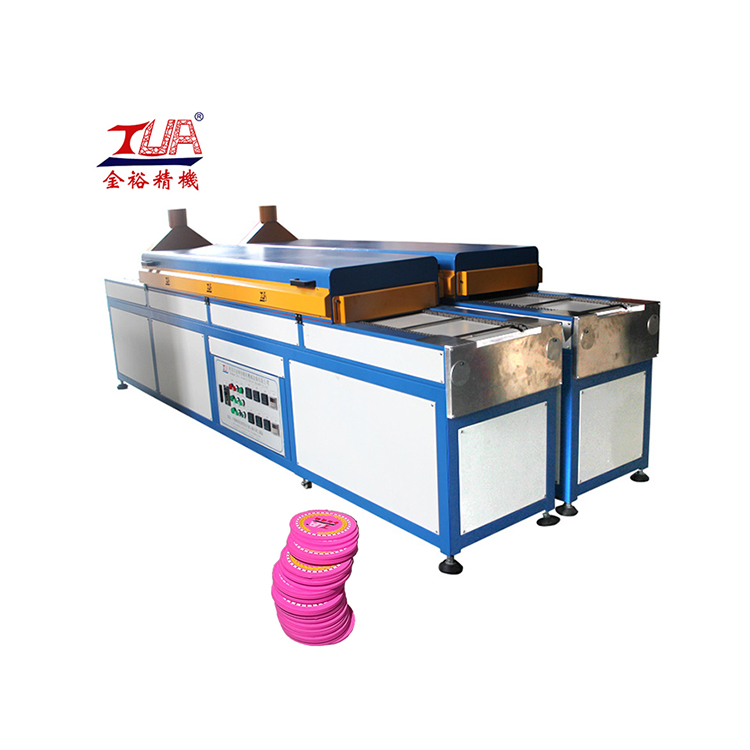 JinYu infrared heaters pvc patch making machine