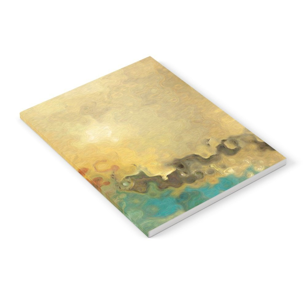"""Society6 What Is Unseen Is Eternal. 2 Corinthians 4:18 Notebook Set of 3 6"""" x 8"""" unlined"""