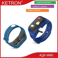 Top quality one key call heart rate waterproof vtech kidizoom smart watch