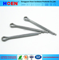 china supplier DIN94 Carbon steel zinc plated split pins