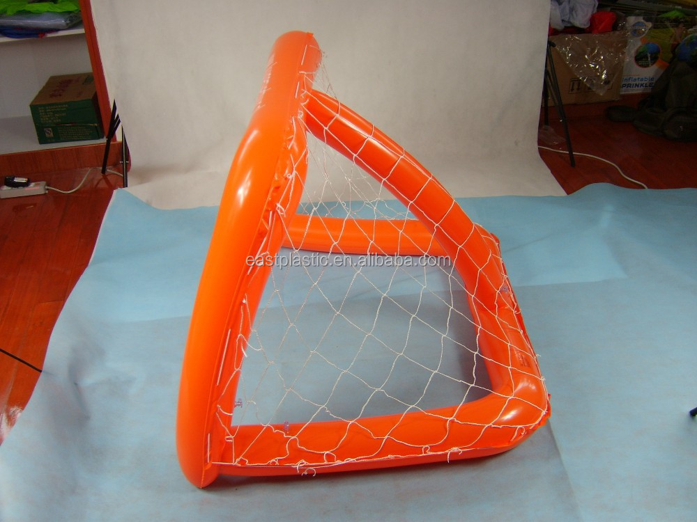 PVC inflatable football door for kids inflatable dolls