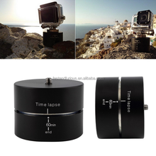 60 Minutes Panning Rotating Time Lapse Stabilizer 360 Degree Auto Rotation Camera Mount For Gopros Hero1/2/3/3+/4