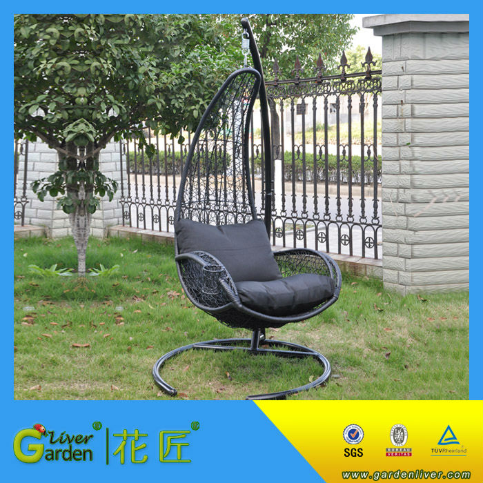 Garden Swing Chair Indoor Outdoor Round Swing Chair Patio Bird Nest Hanging  Chair