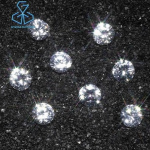 Cvd Diamond Polished Hpht Synthetic Loose White Melee Size 1.0mm