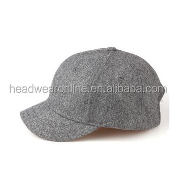 Alta qualidade barato borda curta em branco personalizado flanela 6 painel  de beisebol chapéus atacado 1f53c72e42d