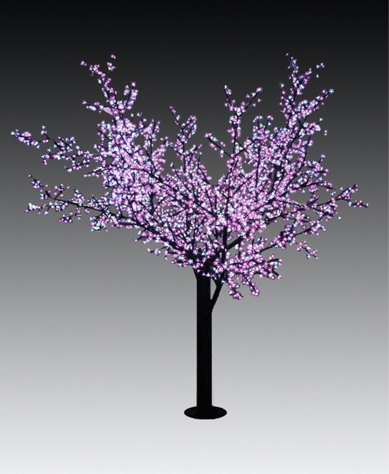Landscape Led Maple Tree 3m Artificial Red Outdoor Solar Lights