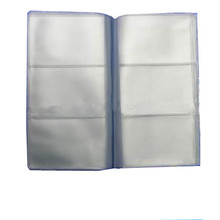 pvc card album with lots of clear pockets XYL-CC198