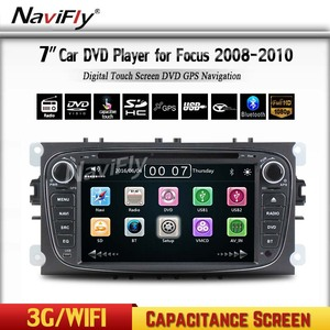 Free shipping Car dvd GPS car audio for FORD F ocus/Mondeo/S-max/C-max/Galaxy with 3G radio dvd play BT WIFI
