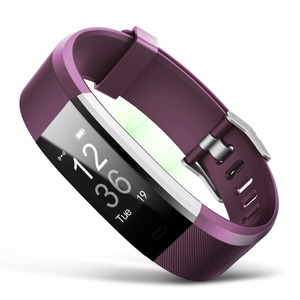Fitness tracker band 2018 Heart Rate Sensor Fitness Sleep Monitor Pedometer Wristbands Sports Wireless Smart Watch Bracelet