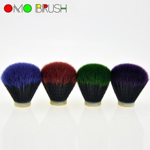 Synthetic hair shaving brush knot 30*73mm size popular color