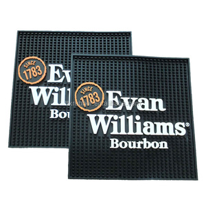 branded rubber beer bar mats