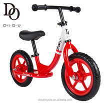 The hot sale 12 inch steel no pedal design Amazon balance bike