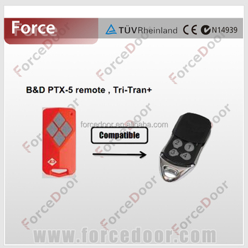 Garage Door Opener Remote Control Compatible To B Amp D Ptx 5
