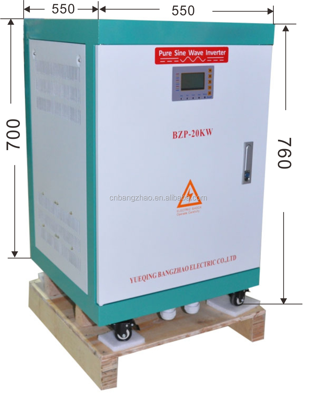 Hot sells AC single phase to AC three phase converter BZT-15KW Phase converter