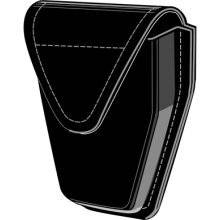 Safariland 190H-HS Handcuff Pouch, Top Flap, Hidden Snap, for Hinged Cuffs