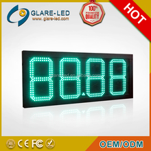 green color 10 inch Germany digital gas price signs led gas price sign led display board price